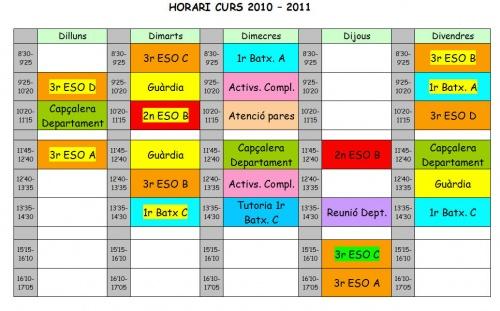 horari 2010-11